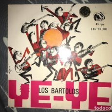 Dischi in vinile: ANTIGUO EP LOS BARTOLOS YE-YE . Lote 80538605
