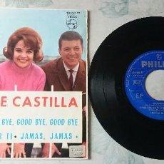 Discos de vinilo: LOS 3 DE CASTILLA: RECORDAR + 3 (PHILIPS 1965) . Lote 80541466