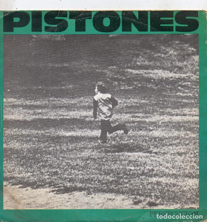 PISTONES, SG, PERSECUCION + 1, AÑO 1984 (Música - Discos - Singles Vinilo - Grupos Españoles de los 70 y 80)