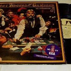 Discos de vinilo: KENNY ROGERS ?– THE GAMBLER EL JUGADOR LP 1979- EMI- ODEÓN. Lote 80572510
