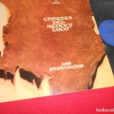 Discos de vinilo: LOS SABANDEÑOS CANTATA DEL MENCEY LOCO LP 1974 COLUMBIA GATEFOLD FIRMADO POR EL GRUPO!. Lote 199384568
