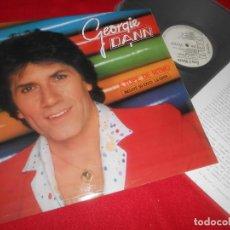Discos de vinilo: GEORGIE DANN A TOPE DE RITMO LP 1983 RCA PROMO EDICION ESPAÑOLA SPAIN + HOJA PROMO. Lote 80589382