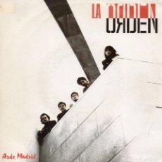 Discos de vinilo: LA ORDEN, SG, ARDE MADRID + 1, AÑO 1990 PROMO. Lote 80595210