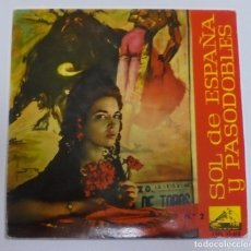 Discos de vinilo: SINGLE. SOL DE ESPAÑA Y PASODOBLES. Nº 2. LA VOZ DE SU AMO. 1961. Lote 80596334