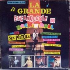 Discos de vinilo: SEX PISTOLS. LA GRANDE ESCROQUERIE DU ROCK'N'ROLL. VIRGIN, FRANCE, 1981 LP. Lote 80627922