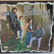 Discos de vinilo: SALVAJES - BELTER - 1981 CON HOJA PROMO. Lote 80641130