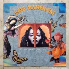 Discos de vinilo: LP LOS MANOLOS - PASIÓN CONDAL - RCA 1991.. Lote 80653606