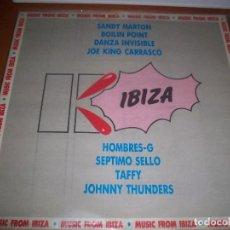Discos de vinilo: LP KU IBIZA. VARIOS ARTISTAS. EDICION TWINS DE 1989.. Lote 80655866
