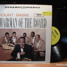 Discos de vinilo: COUNT BASIE CHAIRMAN OF THE BOARD LP USA PDELUXE . Lote 80658734