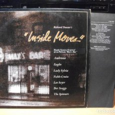 Discos de vinilo: BSO - INSIDE MOVES MAX´S BAR LP SPAIN 1981 PDELUXE . Lote 80661130