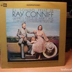 Discos de vinilo: RAY CONNIFF EL SONIDO FELIZ - EXITOS DE .... LP SPAIN 1974 PDELUXE . Lote 80664018