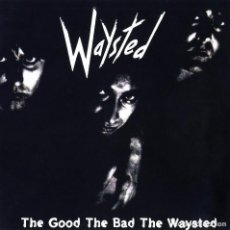 Discos de vinilo: WAYSTED-THE GOOD THE BAD THE WAYSTED-MUSIC FOR NATION- 1985 UK ( UFO, MSG, PETE WAY ). Lote 80675658