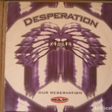 Discos de vinilo: DESPERATION - OUR BRESERVATION - INSOLENT TRACKS 2002 - MAXI - P. Lote 186365693