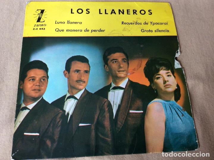 LOS LLANEROS. LUNA LLANERA. QUÉ MANERA DE PERDER. RECUERDOS DE YPACARAI. GRATO SILENCIO. ZAFIRO1963 (Música - Discos de Vinilo - EPs - Grupos y Solistas de latinoamérica)