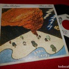 Discos de vinilo: SILVIO RODRIGUEZ RABO DE NUBE/QUE YA VIVI,QUE TE VAS 7'' SINGLE 1980 MOVIEPLAY PROMO ESPAÑA SPAIN. Lote 80712934