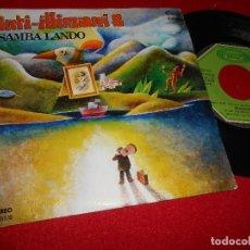 Discos de vinilo: INTI-ILLIMANI SAMBA LANDO/VUELVO 7'' SINGLE 1979 MOVIEPLAY PROMO EDICION ESPAÑOLA SPAIN. Lote 80713378