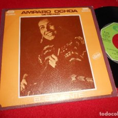 Discos de vinilo: AMPARO OCHOA EL SIRVIENTE/EL TAGARNO 7'' SINGLE 1977 MOVIEPLAY PROMO EDICION ESPAÑOLA SPAIN. Lote 80713790