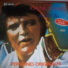 Discos de vinilo: ELVIS – CANCIONES DE AMOR, K-TEL – SL-1016. Lote 80714902