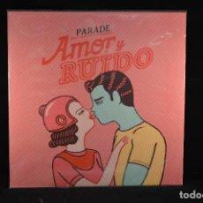 Discos de vinilo: PARADE - AMOR Y RUIDO - LP. Lote 80724254
