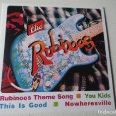 Discos de vinilo: THE RUBINOOS-RUBINOOS THEME SONG-YOU KIDS-THIS IS GOO.NOWHERESVILLE-BLAKULA RECORDS. Lote 80725166