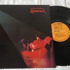 Discos de vinilo: EMMANUEL- EN LA SOLEDAD, 1983, LP. Lote 80725954