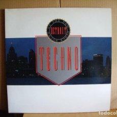 Disques de vinyle: THE NEW DANCE SOUND OF DETROIT. Lote 80728034