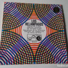 Discos de vinilo: LOS RELAMPAGOS-DANZA DEL FUEGO-CANCION ESPAÑOLA-RECUERDOS DE LA ALHAMBRA-CANCION DEL VAGABUNDO 1966. Lote 80728982