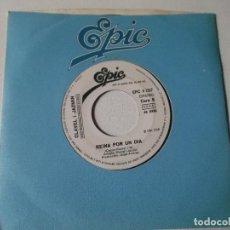 Discos de vinilo: CLAVEL I JAZMIN-EL TWIST DEL AUTOBUS-REINA POR UN DIA -1981 EPIC PROMOCIONAL. Lote 80731922