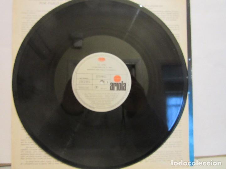 Discos de vinilo: El Oso - Narrado Por Pablo Carbonell - Jean Jacques Annaud - Encarte - 1989 - VG+/VG+ - Foto 4 - 80733002