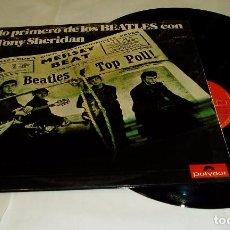 Discos de vinilo: THE BEATLES ?– LO PRIMERO DE LOS BEATLES CON TONY SHERIDAN LP DOBLE + PORTADA DOBLE 1974 POLYDOR. Lote 80741154