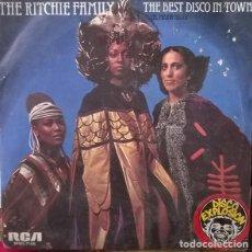 Discos de vinilo: THE RITCHIE FAMILY- THE BEST DISCO IN TOWN, RCA VICTOR-SPBO-7105. Lote 80760074