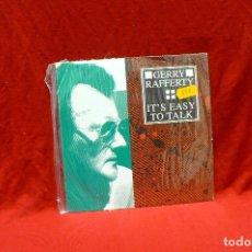 Discos de vinilo: GERRY RAFFERTY - IT'S EASY TO TALK, POLYDOR 861-298-7 GERMANY 1992 . Lote 80765578