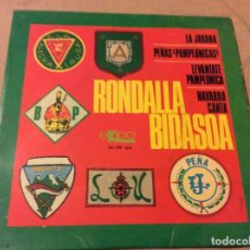 Discos de vinilo: RONDALLA BIDASOA. LA JARANA. PEÑAS PAMPLONICAS - LEVANTATE PAMPLONICA - NAVARRA CANTA. Lote 80767730