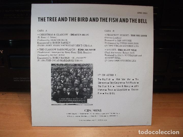 Discos de vinilo: VARIOS - ARTISTS GLASGOW THE TREE AND THE BIRD AND ..... 1991 EP PDELUXE - Foto 2 - 80773018