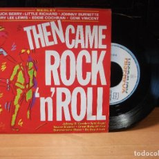 Discos de vinilo: VARIOS - ROCK AND ROLL THE CAME ROCK ROLL SINGLE SPAIN 1991 PDELUXE. Lote 80774002