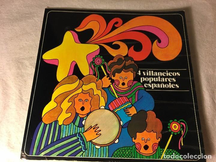 DISCO SINGLE ORIGINAL VINILO VILLANCICOS (Música - Discos de Vinilo - EPs - Música Infantil)