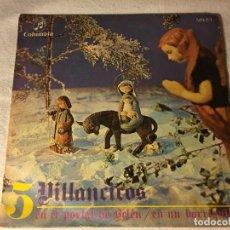 Discos de vinilo: DISCO SINGLE ORIGINAL VINILO VILLANCICOS. Lote 80774658