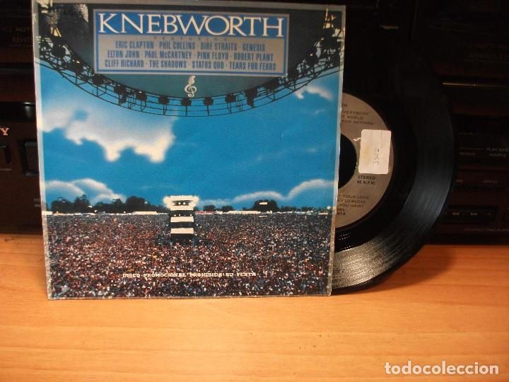 Discos de vinilo: VARIOS - KNEBWORTH MONEY FOR NOTHING + 4 EP SPAIN 1990 PDELUXE - Foto 1 - 80774770
