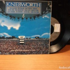 Discos de vinilo: VARIOS - KNEBWORTH MONEY FOR NOTHING + 4 EP SPAIN 1990 PDELUXE. Lote 80774770