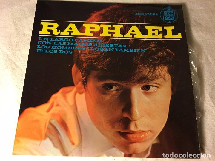DISCO SINGLE ORIGINAL VINILO EP RAPHAEL RAFAEL (Música - Discos - Singles Vinilo - Solistas Españoles de los 50 y 60)