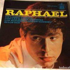 Discos de vinilo: DISCO SINGLE ORIGINAL VINILO EP RAPHAEL RAFAEL. Lote 80775470