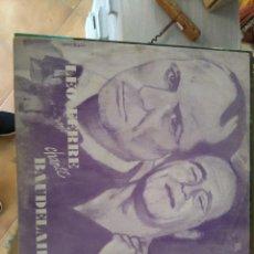 Discos de vinilo: LEÒ FERRÈ CANTA A BAUDELAIRE. Lote 80780562