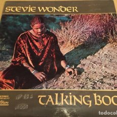 Discos de vinilo: STEVIE WONDER - TALKING BOOK - LP VINYL SPAIN ORIGINAL 1972-1973 MS -9047 - CARPETA ABIERTA. BRAILLE. Lote 80785782