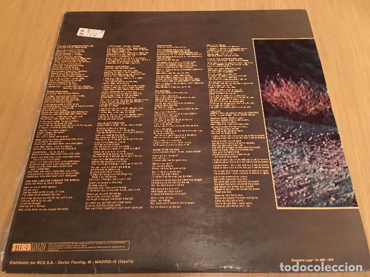 Discos de vinilo: STEVIE WONDER - TALKING BOOK - LP VINYL SPAIN ORIGINAL 1972-1973 MS -9047 - CARPETA ABIERTA. BRAILLE - Foto 3 - 80785782