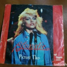 Discos de vinilo: DISCO VINILO: BLONDIE.- CORAZON DE CRISTAL/PICTURE THIS.-. Lote 80789950