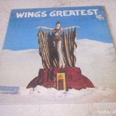 Discos de vinilo: WINGS - GREATEST - EMI 1978 - INCLUYE POSTER. Lote 80792458