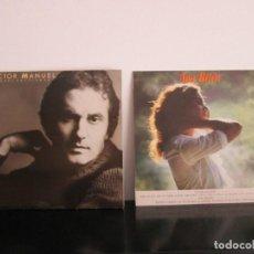 Discos de vinilo: LOTE 1P Y 1 LP DOBLE ANA BELEN Y VICTOR MANUEL TOTAL 3 LP = BUENA OFERTA. Lote 80793031