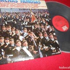 Discos de vinilo: MARCHAS FAMOSAS BANDA WASHINTON D.C. BRASS BRIGADE DIR.R JENKINS LP 1973 GRAMUSIC ESPAÑA SPAIN . Lote 80806091