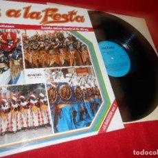 Discos de vinilo: BANDA UNION MUSICAL DE ALCOY PAS A LA FESTA MUSICA MOROS Y CRISTIANOS LP 1988 EDICION ESPAÑOLA SPAIN. Lote 80806487