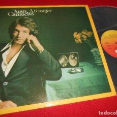 Vinyl-Schallplatten - JUAN CAMACHO A TI MUJER LP 1975 CBS EDICION ESPAÑOLA SPAIN - 80806611